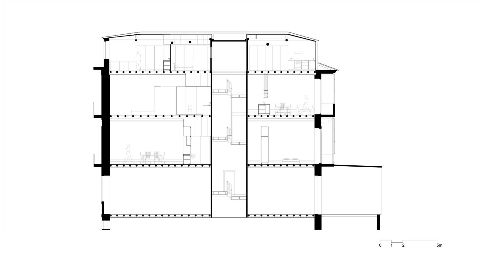 Corte longitudinal 2