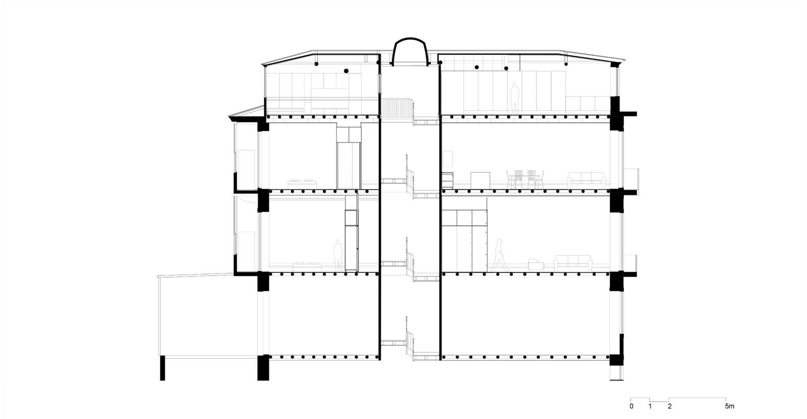 Corte longitudinal 1