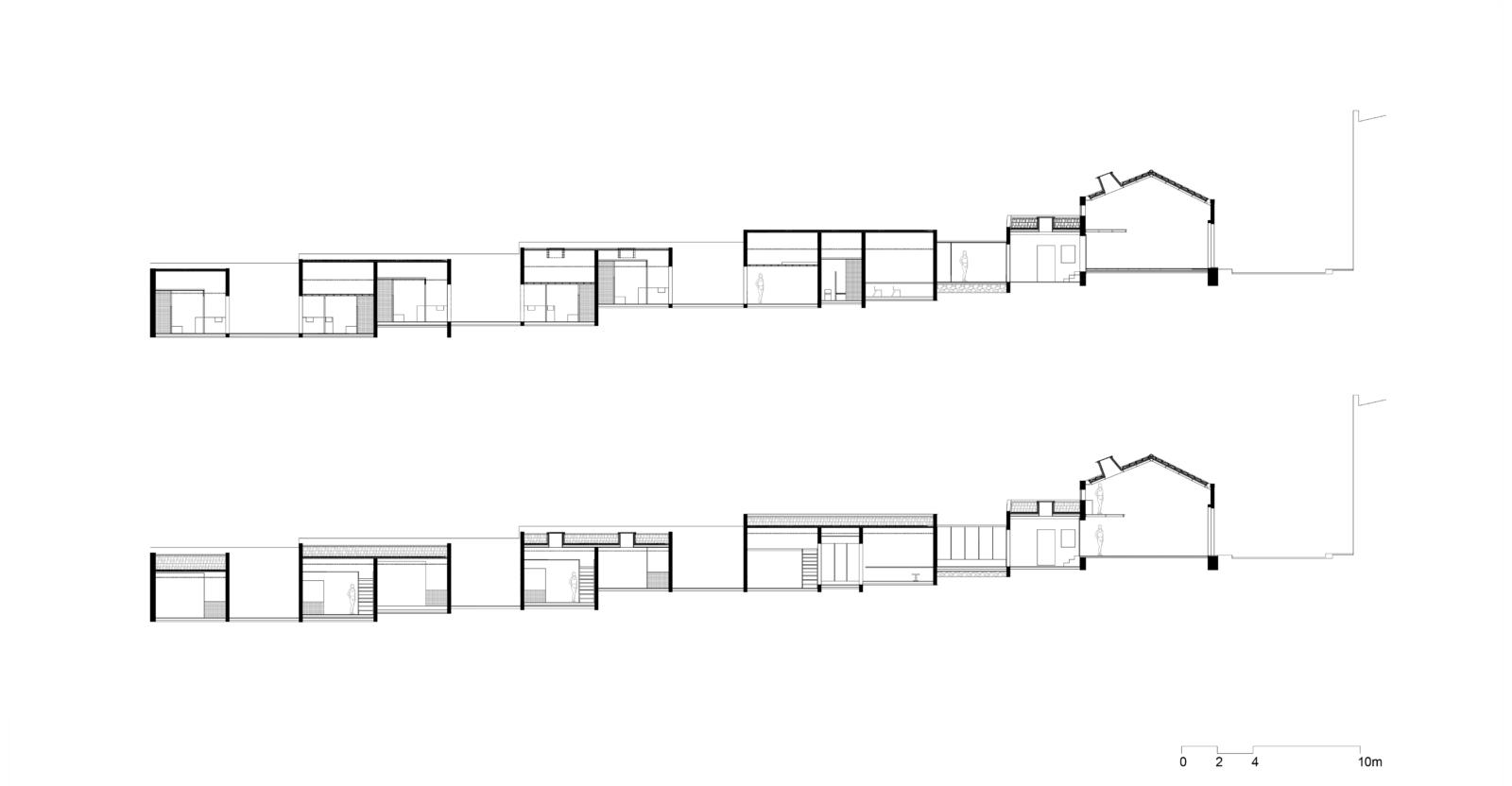 """Cenário 0 """"Artist residence- Sharing a patio"""":cortes"""