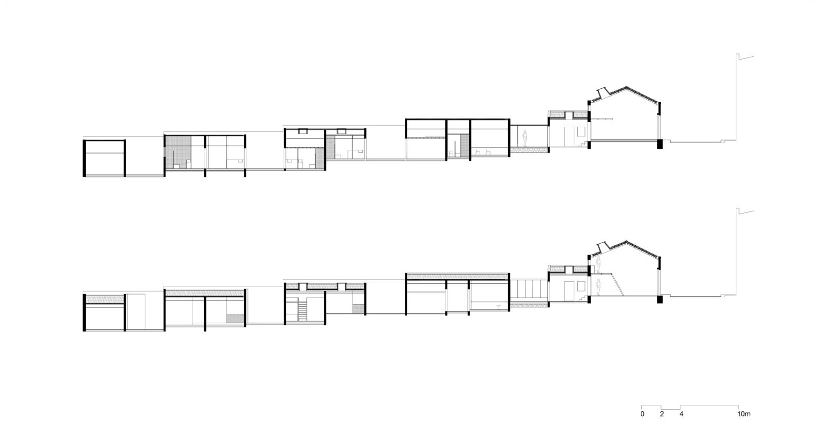 "Cenário 1 ""Artist residence- Studios 2+1"":cortes"