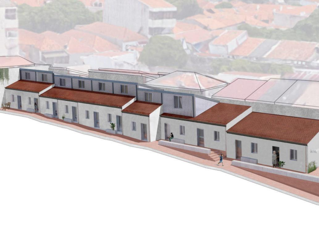 Reabilitação de Ilha com Programa Habitar